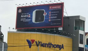 Biển quảng cáo khổ lớn, hiflex - Ariston