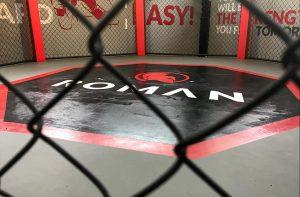 thiết kế thi công phòng gym Roman - sàn đấu - by hcall