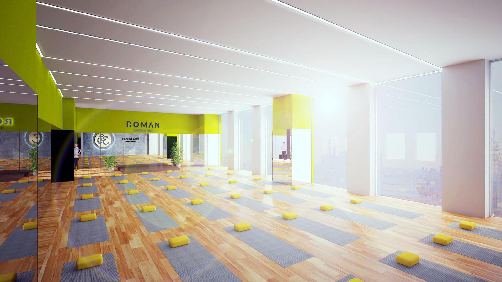 thiet-ke-phong-tap-yoga-roman-yoga